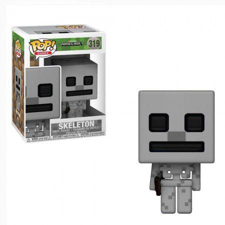 Boneco Funko Minecraft #319 - Skeleton
