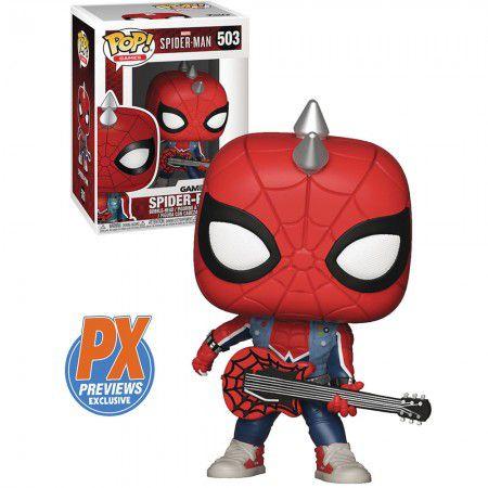 Boneco Funko Spider-Man #503 - Spider-Punk