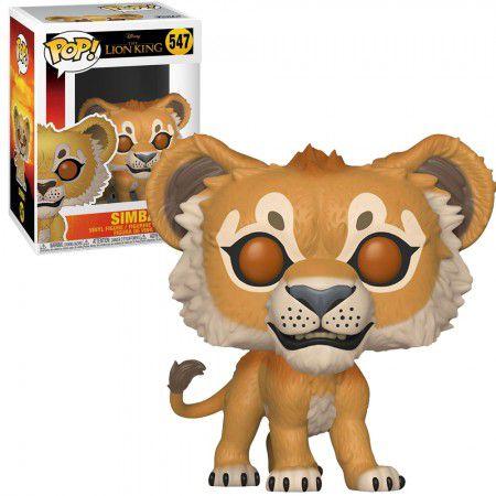Boneco Funko Pop Lion King #547 - Simba