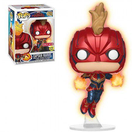 Boneco Funko Captain Marvel #433 - Captain Marvel