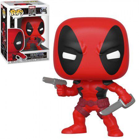 Boneco Funko Marvel 80 Years #546 - Deadpool