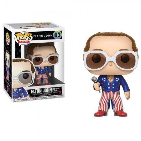 Boneco Funko Elton John #63 - Elton John