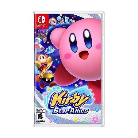 Jogo Kirby Star Allies - Nintendo Switch