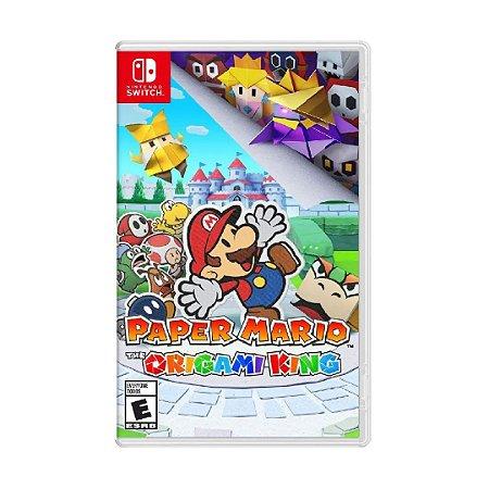 Jogo Paper Mario: The Origami King - Nintendo Switch