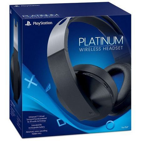 Headset platinum sony - wireless 7.1 - PS4