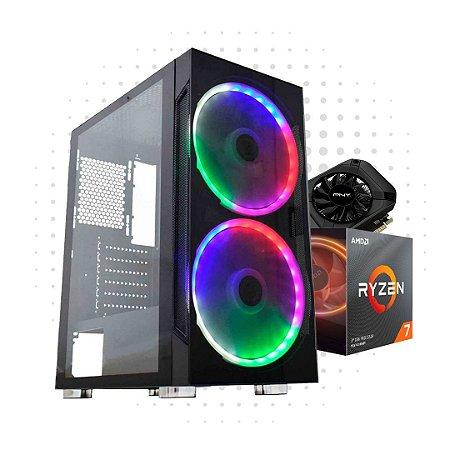 PC Gamer Power 2 - RTX 3060 - Ryzen 7 3700X - 16 GB DDR 4 - HD 1TB - SSD 240GB