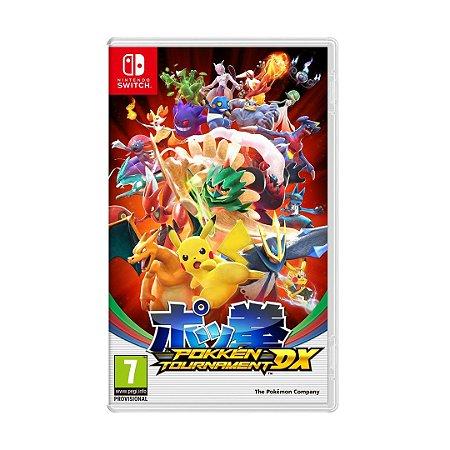 Jogo Pokemon Tournament DX - Switch