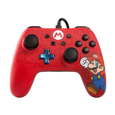 Controle Switch Super Mario - Vermelho