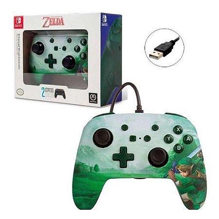 Controle Switch Zelda Verde - Power A
