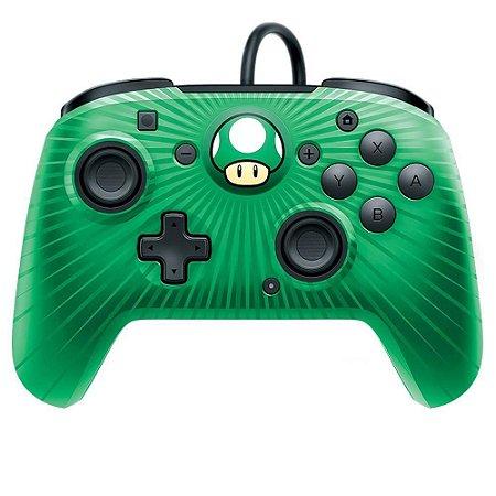 Controle Switch Super Mario - Verde