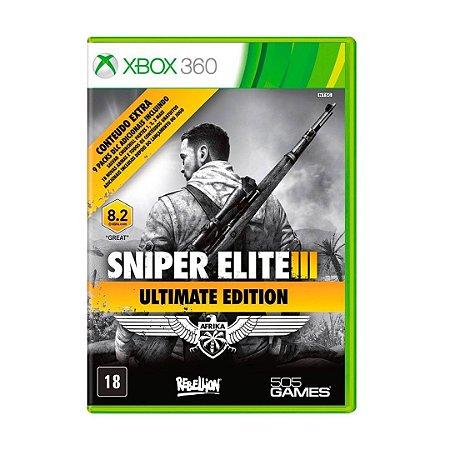 Jogo Sniper Elite 3 (Ultimate Edition) - Xbox 360