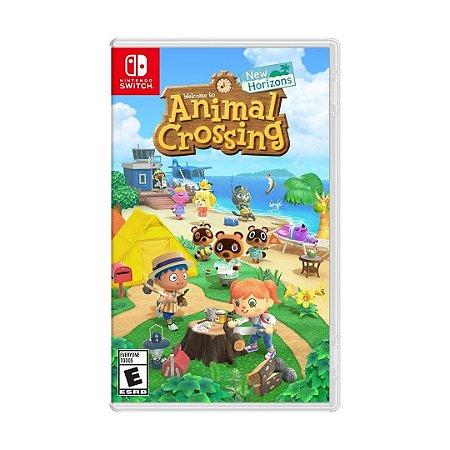 Jogo Animal Crossing (New Horizons) - Nintendo Switch