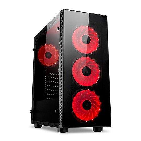 Gabinete Redragon Sideswipe - (gaming case) RGB