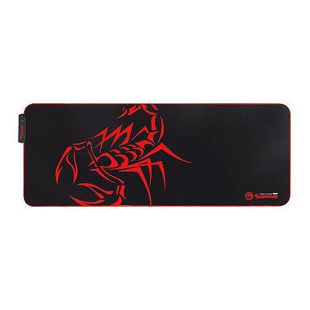 Mouse Pad Marvo Scorpion MG010 (RGB XL 800X310X4MM)