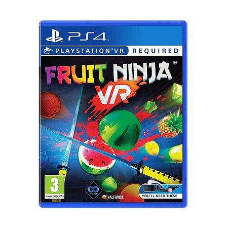 Jogo Fruit Ninja VR - PS4
