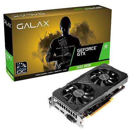 Placa de Vídeo Geforce GTX 1660 Super Galax NVIDIA (6GB - GDDR6)