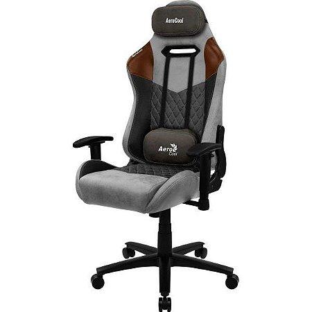 Cadeira Gamer Aerocool Duke Tan Grey C2
