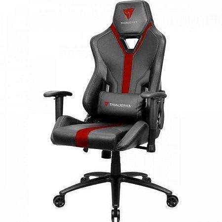 Cadeira Gamer Thunderx3 YC3 - Preta/Vermelho