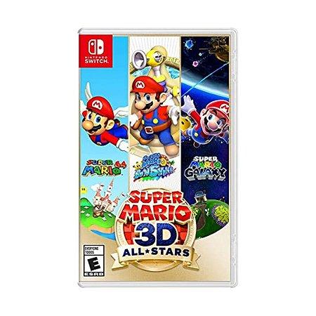 Jogo Super Mario 3D All Stars - Switch
