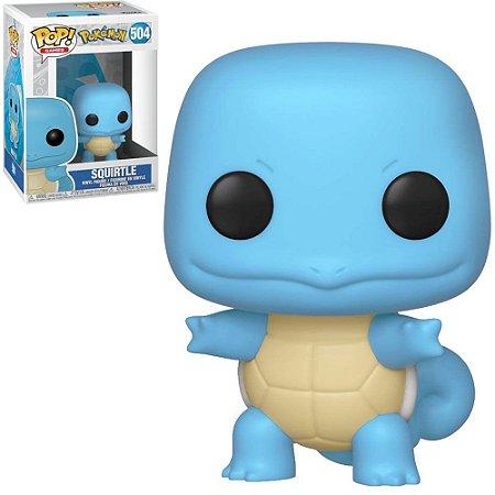 Boneco Funko Pop Pokémon #504 - Squirtle