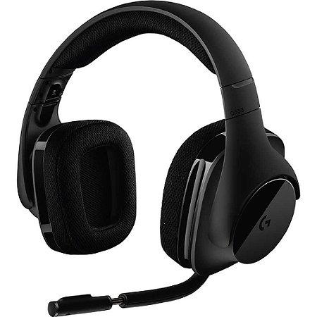 Headset Gamer Logitech - G533 Wireless 7.1