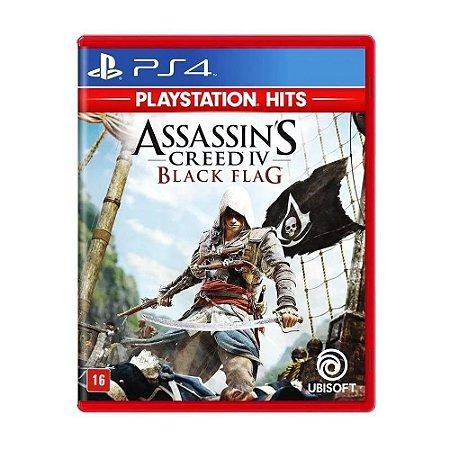 Jogo Assassin's Creed IV: Black Flag - PS4 (Hits)