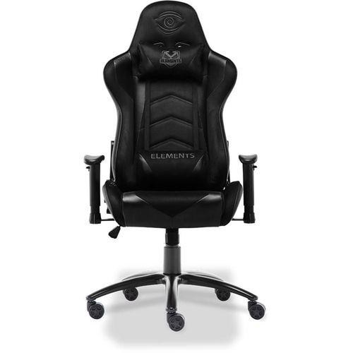 Cadeira Gamer Elements Veda Nemesis - Suede - Preta