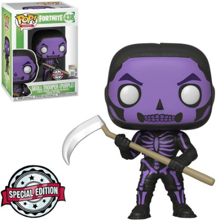 Boneco Funko Pop Fortnite #438 - Skull Trooper (Purple)