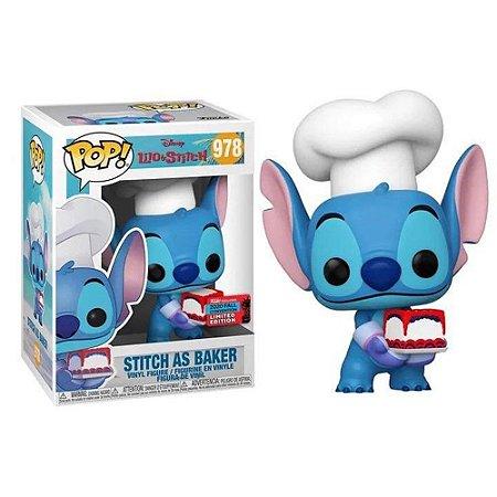 Funko Pop #978 Stitch as Baker - Disney