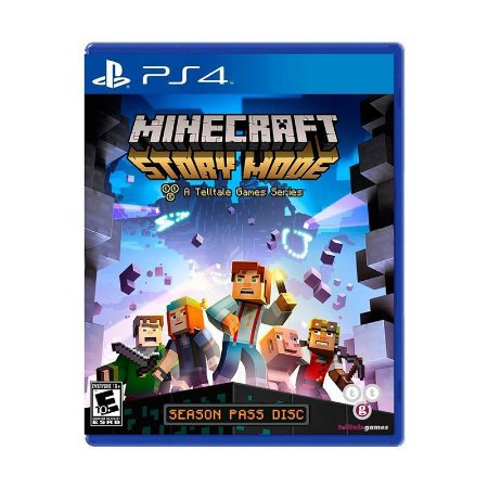 Jogo Minecraft: Story Mode - PS4