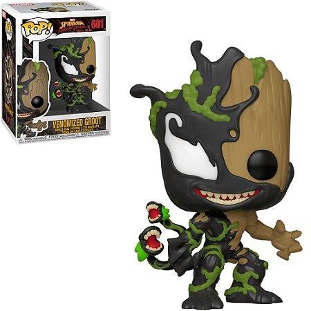 Boneco Funko Pop Marvel #601 - Venomized Groot