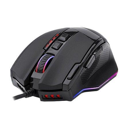 Mouse Gamer Redragon Sniper RGB 9 Botões
