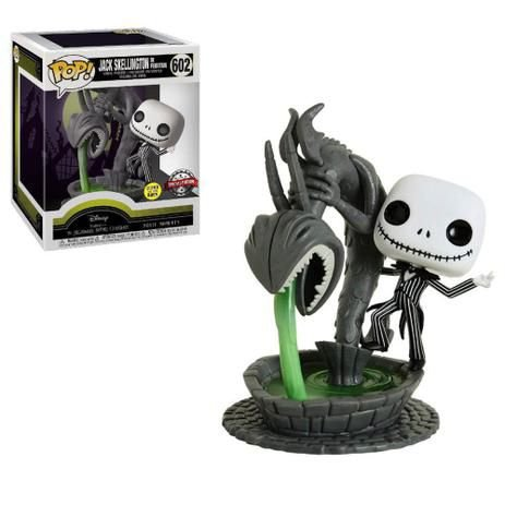 Boneco Funko The Nightmare Before Christmas #602 - Jack Skellington in Fountain