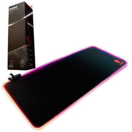 Mousepad Gamer RGB Evolut EG-411 Grande 70 x 30 cm Base Anti-Derrapante Speed - EG-411