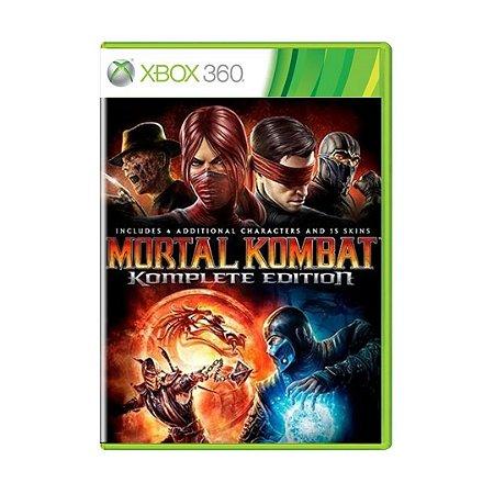 Jogo Mortal Kombat: Komplete Edition - Xbox 360