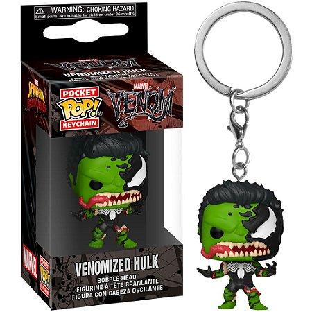 Chaveiro Pocket Pop - Venomized Hulk