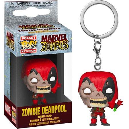 Chaveiro Pocket Pop - Zombie Deadpool