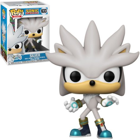 Boneco Funko #633 Silver - Sonic