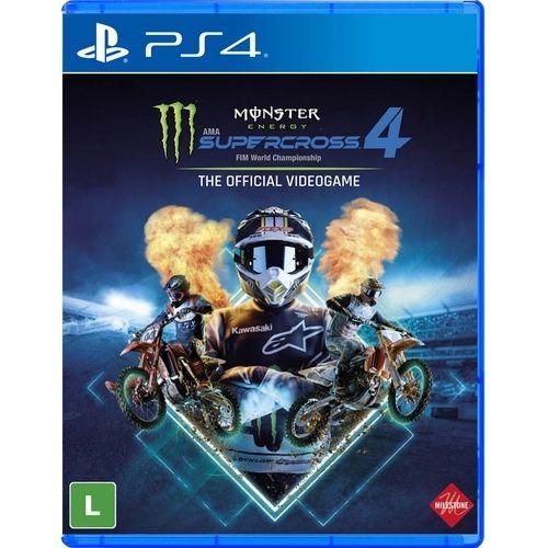 Jogo Monster Energy Supercross 4 - PS4