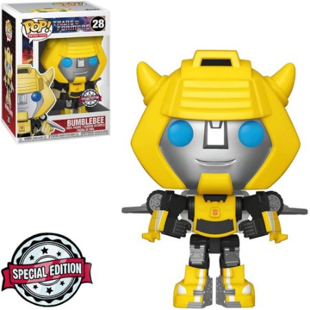 Boneco Funko #28 Bumblebee - Transformers