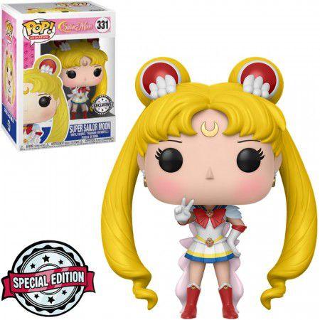 Boneco Funko Super Sailor Moon #331 - Sailor Moon