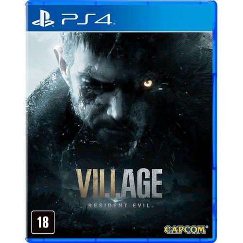 Jogo Resident Evil Village - PS4