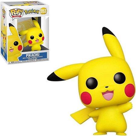 Boneco Funko Pikachu #553 - Pokémon