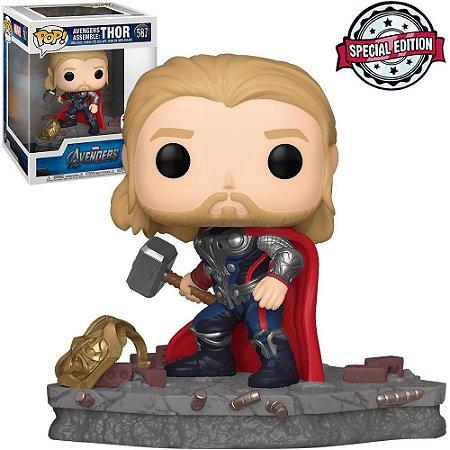 Boneco Funko Pop Avengers Assemble Thor #587 - Marvel