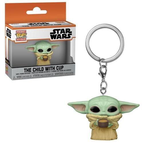 Chaveiro Pocket Pop - The Child With Cup - Star Wars