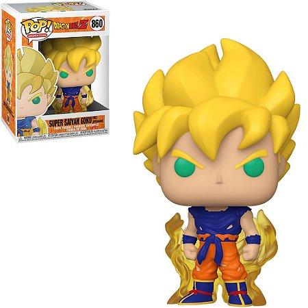 Boneco Funko Super Saiyan Goku #860 - Dragon Ball Z