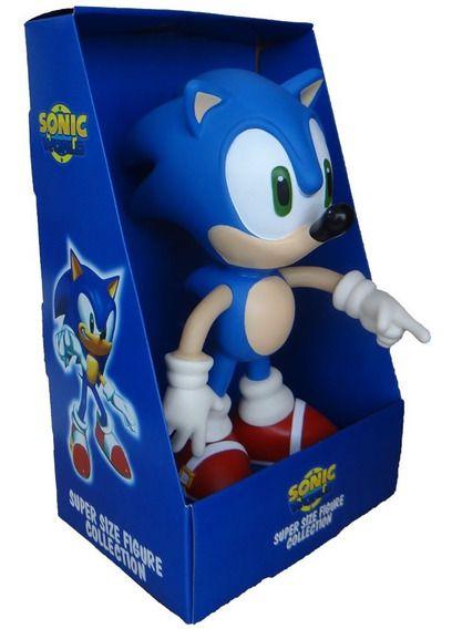 Boneco Colecionável Sonic World - Sonic