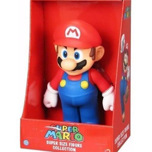 Boneco Colecionável Super Mario - Mario
