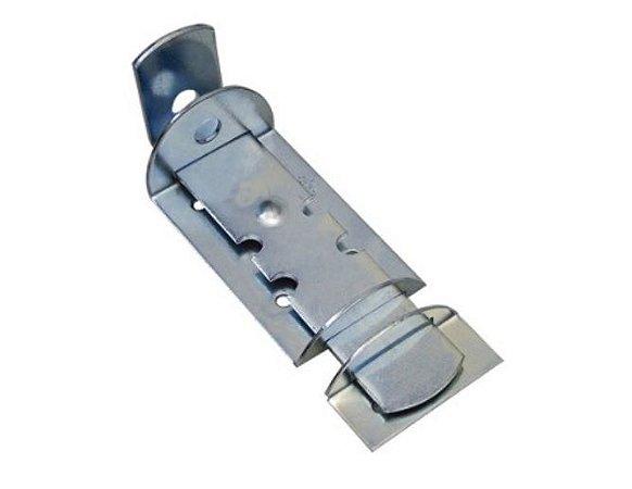Kit com 4 Ferrolho Tranca Chato Para Cadeado 18 cm  Porta Portão
