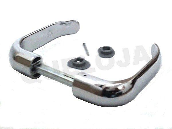 Maçanetas Para Fechadura Porta Madeira Ferro Metal Stam Mod.09